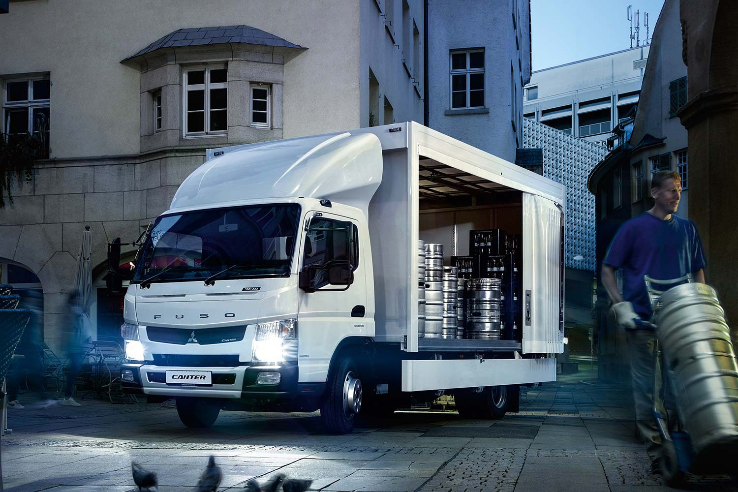 Fuso Canter 7,t drankentransport