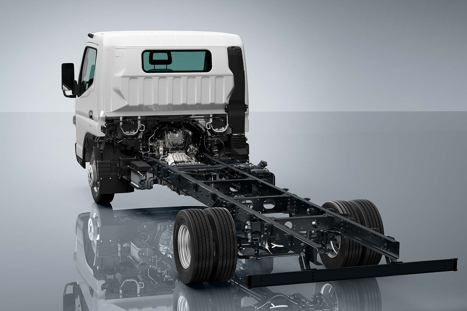 Fuso Canter 7,t ladderchassis