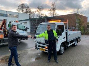 FUSO Canter overhandiging Gemeente Delft