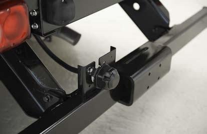 FUSO Canter optie onderrijbeveiliging aanhangwagen