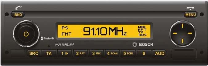 FUSO Canter optie EF8 radio met bluetooth