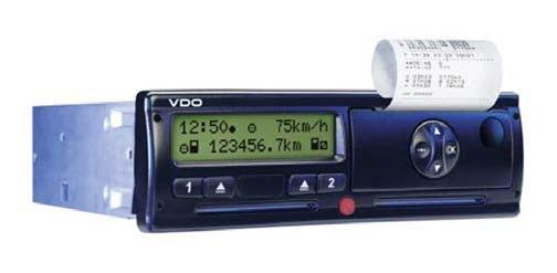 FUSO Canter optie tachograaf