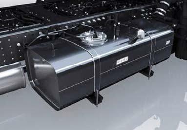 FUSO Canter optie 100 liter brandstoftank