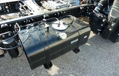 FUSO Canter optie extra brandstoftank