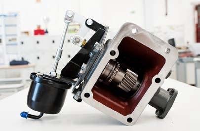 FUSO Canter optie PTO 31 kw
