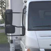 FUSO Canter optie VA4 spiegelhouder