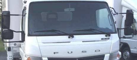 FUSO Canter optie VB5 spiegelarmen