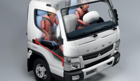 FUSO Canter veiligheid airbags
