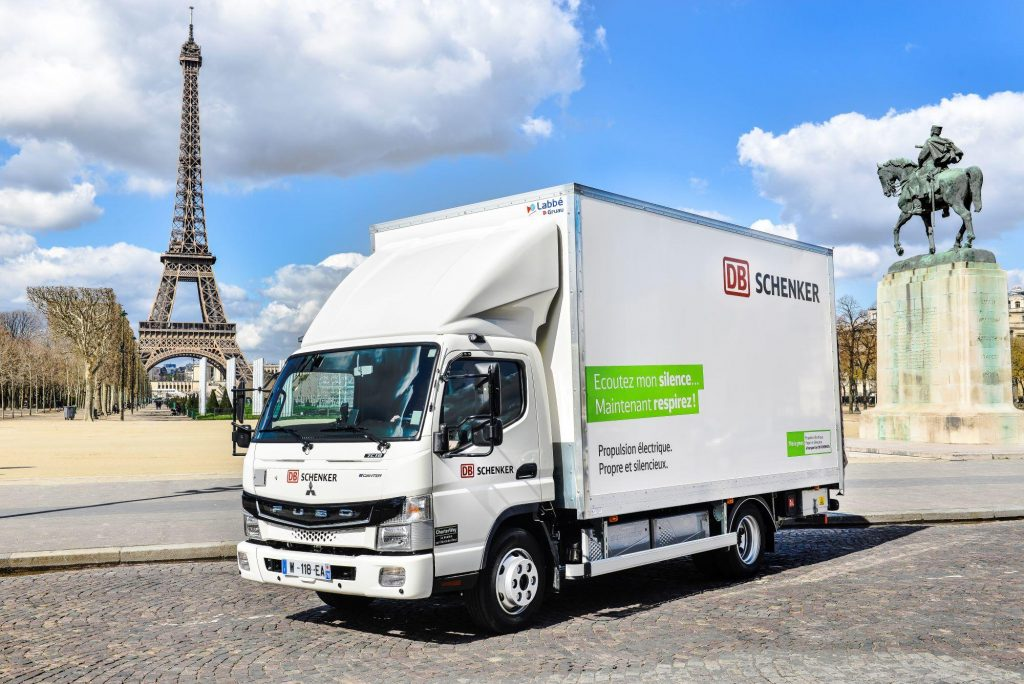 FUSO eCanter Parijs