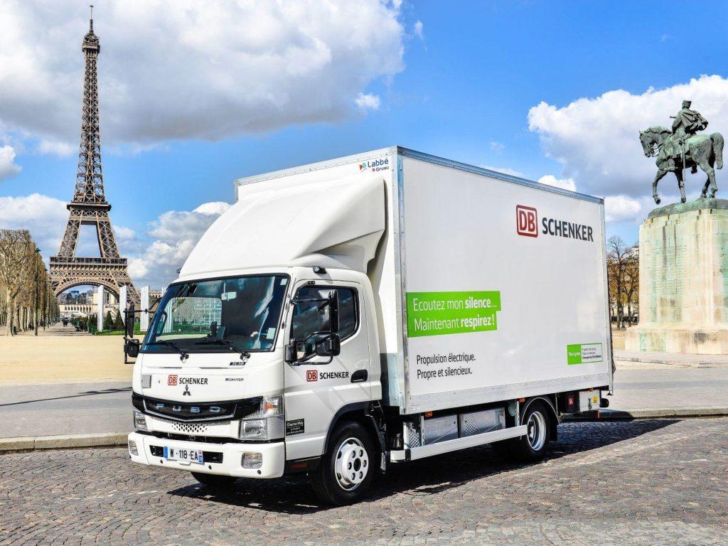 FUSO eCanter Parijs